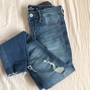 Hollister super skinny jeans 00